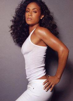 Jada Pinkett Smith, so beautiful. Jada Pinkett Smith, My Black Is Beautiful, Beautiful People, Beautiful Women, Pretty People, Meagan Good, Black Actresses, My Hairstyle, Black Girls Rock