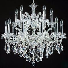 Diamant crystal Kronleuchter Inverno Silber Groß #kronleuchter #klassisch…