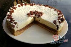 Fenomenální nepečený čokoládový dort | NejRecept.cz Nutella, Cheesecake, Tiramisu, Pie, Ethnic Recipes, Food, Food Cakes, Deserts, Torte