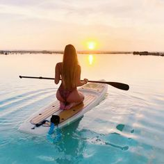 Repost boarding pictures board yogaSail away with me What will be,will be. Repost boarding pictures board yoga Young Fit Woman Sitting On Paddle Board Paddle Board Yoga, Standup Paddle Board, Kayak Paddle, Lake Pictures, Summer Pictures, Surfing Pictures, Kayak Pictures, Boating Pictures, Lake Pics