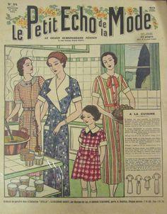 LE PETIT ECHO DE LA MODE N° 34 de 1934