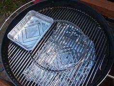 Je hebt niet altijd een dure smoker nodig om echt te barbecueen. Met een goede kwaliteit ketelbarbecue kan je ook met goed resultaat roken.