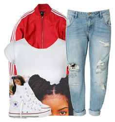 11/09/15 by clickk-mee on Polyvore featuring polyvore, fashion, style, adidas, Zara and Converse