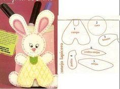 Manualidades Conejos Pascua de resurrección | IDEAS DISFRAZ