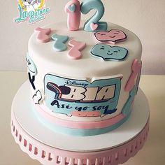 Disney Birthday, Girl Birthday, Birthday Cake, Birthday Parties, Channel Cake, Cute Easy Drawings, Disney Channel, Ale, Party