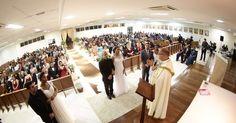 Irmãs celebram casamento triplo em capela em São José dos Campos, SP