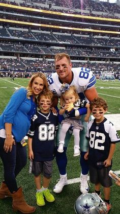 Jason Witten and family.
