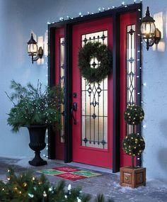 Puertas navideñas