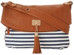 Nautical Striped Bag for summer