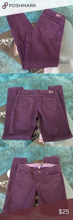 Paige jeans Good conditions  Paige skinny jeans size 29 inseam 27 Paige Jeans Pants Ankle & Cropped