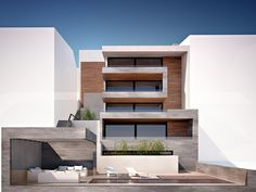 Sweet exterior via GreekArchitects.gr