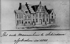 Het Oude Mannenhuid, afgebroken juli 1843