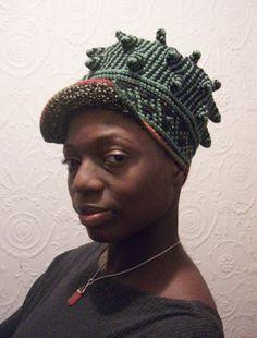 xenobia bailey | XENOBIA BAILEYS ARTIST WORK JOURNAL: FUNKY CHIC CROCHET CROWNS BY ...