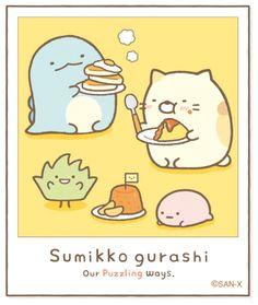 開飯時間 Cute Kawaii Animals, Kawaii Cute, Cute Cartoon Wallpapers, Cartoon Pics, Kawaii Drawings, Cute Drawings, Cute Photos, Cute Pictures, Sumiko Gurashi