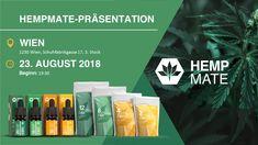 23.08.2018 19:30 - 23.08.2018 21:15 HempMate Präsentation Wien 1230 Wien, Schuhfabrikgasse 17, 3. Stock Schmidt, Products