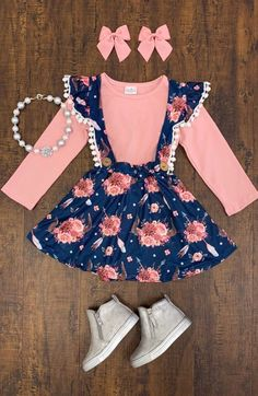 Best Ideas For Baby Clothes Hipster Girl Little Girl Outfits, Toddler Girl Outfits, Little Girl Fashion, Little Girl Dresses, Toddler Fashion, Baby Outfits, Kids Fashion, Cute Outfits, Fall Fashion