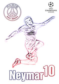 Neymar - PSG - Champions League 2017/18 - BOB CALLIGARIS Neymar 2017, Neymar Psg, Thiago Silva, Football Tops, Football Wallpaper, Soccer Stars, Best Player, Erdem, Champions League