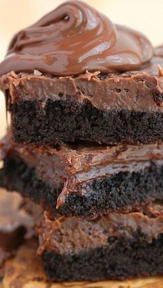 Fudge Nutella Chocolate Cake