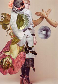 Ashkan Honarvar's Vanitas Collages.