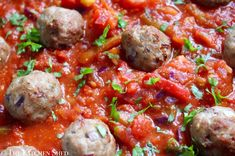 Clean Eating Pork, Garlic & Rosemary Meatballs | The Kitchen Shed