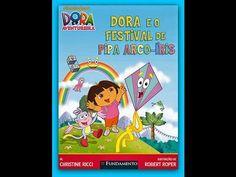 """Dora Aventureira em Português """"Amigos da Cidade em a Pipa de condor """" - ..."""