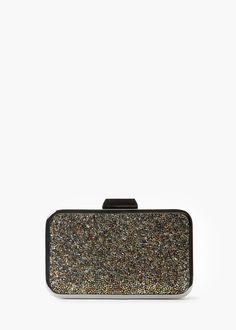 Beaded panel clutch - Bags for Women | MANGO