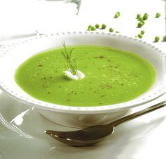 Σούπα αρακά για να κρατηθούμε ζεστοί στο #κρύο με λιγότερες από 200 #θερμίδες Soup, Ethnic Recipes, Soups