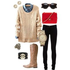 CLOTHING CENTER   16 Need to-See Fall Polyvore Combinations   http://www.clothingcenter.net