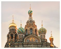 Russian Church Domes architectural print St Petersburg architecture art photography large wall art 11x14 20x24 24x30 oversized poster (30.00 USD) by RivuletPhotography