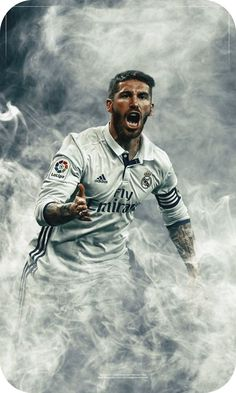 Sergio Ramos García is a Spanish professional footballer who plays for and capt. American Football Players, Soccer Players, Spain National Football Team, Real Madrid Wallpapers, Desktop Wallpapers, Iphone Wallpaper, Ramos Real Madrid, Real Madrid Football Club, Football Workouts