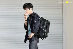 Park Bo Gum for Mandarina Duck Addicted Series, Bo Gum, Sling Backpack, Backpacks, Park, Concert, Celebrities, Image, June 16