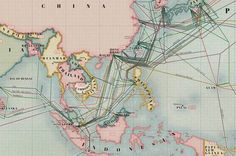 [ The Submarine Cable Map charts miles of subaquatic cabling that drives telecommunications. We're all jacked into this global network. Business Innovation, Innovation Design, Underwater Cable, Submarine Cable, Flat Web, Sustainable Energy, Information Graphics, Celebrity Travel, Wedding Tattoos