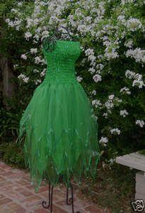 New PLUS SIZE Adult GREEN Fairy Dress ~ Mardi Gras Costume ~  Renaissance Gown