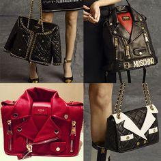 Moschino Jacket Bags  Coat of Arms • Snob Essentials Designer Handbags  Online e8d0c12215701