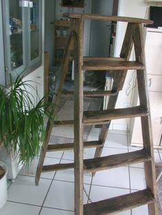 Weiteres - eine uralte Holzleiter - ein Designerstück von Manus-kleine-Vintage-Schatzkiste bei DaWanda