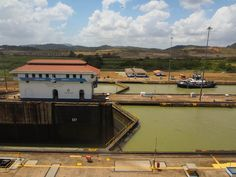 You can see that any size ship traverses this small lake! #PanamaCanal, Panama City