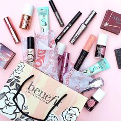 All the benefit goodies! Spot something you want, Benebabes?!