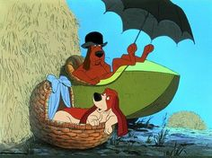 """The Aristocats : Napoleon & LaFayette.  """"It's a one-wheeled haystack!!"""""""