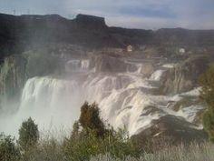 Shoshone Falls in Twin Falls, ID