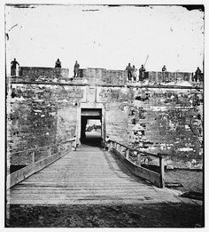 The Fort entrance 1860