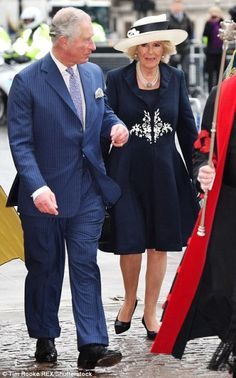 12 March 2018 Prince Charles, The Prince of Wales, and Camilla, The Duchess of Cornwall attended the Commonwealth Day Observance Service at Westminster Abbey, London.