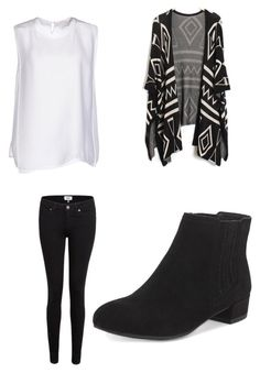 """School"" by margot-52 ❤ liked on Polyvore featuring STELLA McCARTNEY, Paige Denim and M&S"
