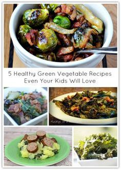 5 Healthy Green Vegetable Recipes That Even Your Kids Will Love | #MakeYourMove with @kohls in 2015! 5 Healthy Green Vegetable Recipes