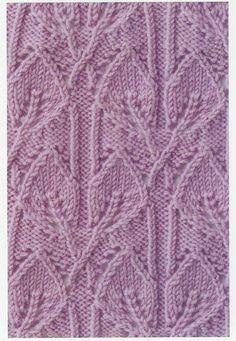 Lace Knitting Stitches: Lace Knitting Stitch #72