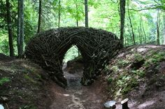 Storybook-Style Land Art Scattered Across a Forest in Italy - My Modern Metropolis
