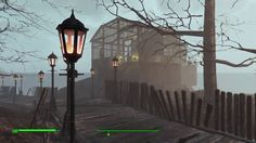Fo4 tour of longfellows cabin build  mods