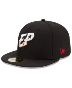 06e067fcdf413 New Era El Paso Chihuahuas Ac 59FIFTY Fitted Cap - Black 6 7 8