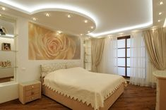 We have compiled best bedroom ceiling lights to improve your bedroom decoration. Check out the gallery and pick the best bedroom ceiling lights for you. Lcd Wall Design, House Ceiling Design, Bedroom False Ceiling Design, Master Bedroom Interior, Bedroom Ceiling, Modern Bedroom Design, Home Bedroom, Bedroom Decor, Best False Ceiling Designs