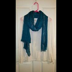 LOFT Scarf Brand New blue LOFT scarf LOFT Accessories Scarves & Wraps
