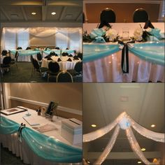 head table idea but in our wedding colors